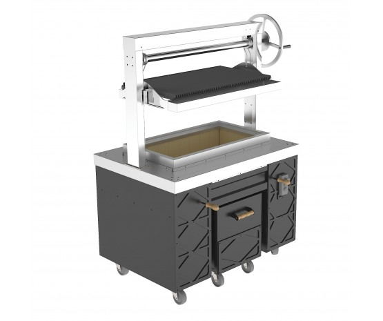 Argentinian grill - heavy duty - open design