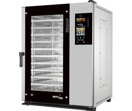 """""""Bistrot Star 2X"""" combi steamer - Vision - 10 grids for bakery"""