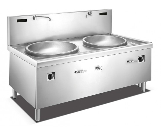 1000 mm Induction double head large wok griddle