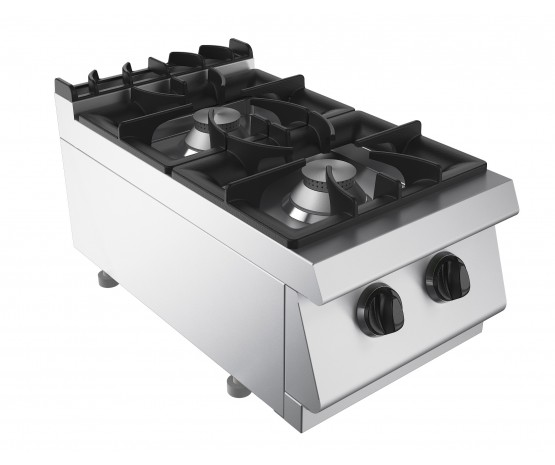 Boiling top, 2 burners, counter top