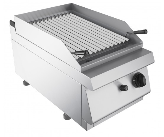 Lava rock chargrill, counter top