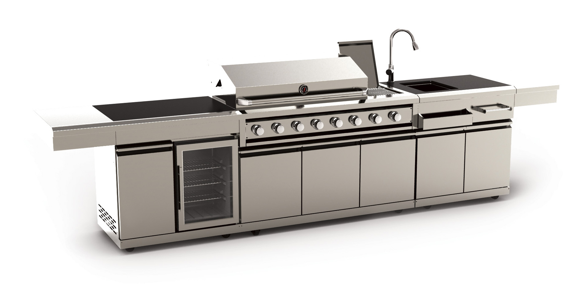 rexmartins adds professional barbecue suites